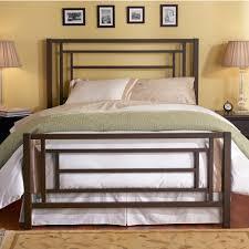 bedroom king metal bed frame headboard footboard king metal bed