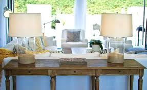 Entry Table Ls Decorating Sofa Table Editorial Worthy Entry Table Ideas Designed