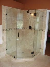 Discount Shower Doors Glass by Bed Bath Frameless Shower Doors For Neo Angle With Tile Cozy
