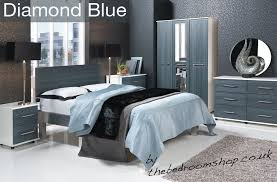 white modern assembled bedroom furniture with uk delivery by the