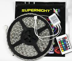 supernight dc24v 10 meters ultra long rgb led strip light kit