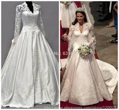 Elegant Wedding Gowns Turmec Elegant Long Sleeve Lace Wedding Dresses