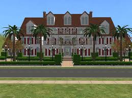 Colonial Luxury House Plans Mod The Sims Red Diamond Path A Five Bedroom And Nine Baths