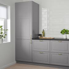 cost to assemble ikea kitchen cabinets bodbyn door gray 18x30