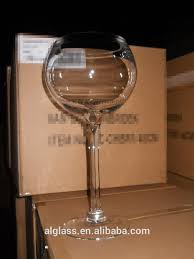 martini giant giant long stem glass martini glass wine glass vase buy giant