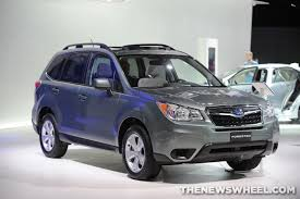subaru green forester subaru introduces 2014 subaru forester xv crosstrek hybrid the