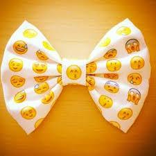cool hair bows cool emoji hair bow hairbow bow bowes bows emoji