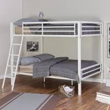 metal bunk beds on hayneedle metal loft beds