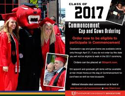 order cap and gown online only one week left to order your cap and gown for graduation du hub