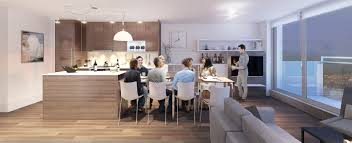 kitchen island dining set the most out of small apartments using transformable spaces