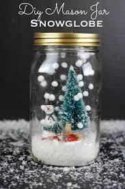 halloween snow globe diy mason jar snowglobe