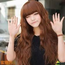 popular hair colour for korean free shipping 2014 korean style popular sexy women girl s wigs