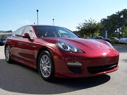 Porsche Panamera Red - 2010 porsche panamera s in ruby red with luxor beige interior