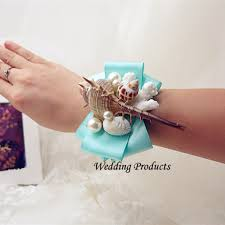 aliexpress com buy high quality wedding bride wrist corsage