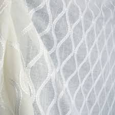 Drapery Fabrics Entrancing Sheer Drapery Fabric Royal Batiste White Sheer Extra