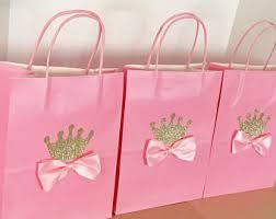 princess candy bags princess treat bags etsy