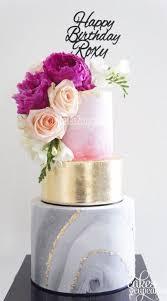23 unique and elegant marble wedding cake ideas 2017