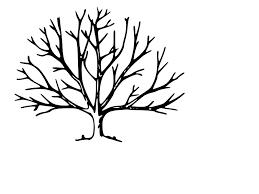 bare tree clipart black and white clipartxtras