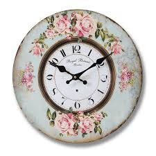 royal botanic garden wall clock 35cm bedroom furniture direct