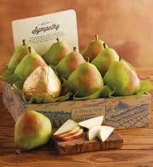 gourmet pears pears royal riviera pears gift baskets harry david