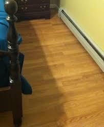 Glueless Laminate Flooring Trafficmaster Benson Oak 7 Mm Thick X 8 5 64 In Wide X 47 41 64