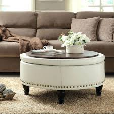 Hinged Storage Ottoman Ottomans Hammond Upholstered Ottoman Storage Bench Coffee Table