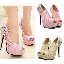 Rhinestone Sandal Heels 2015 New Fashion Women Pumps Sandals Peep Toe Stiletto Platform