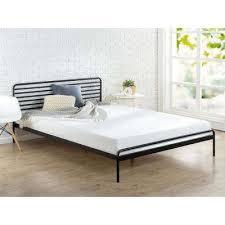 zinus beds u0026 headboards bedroom furniture the home depot