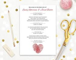 print at home wedding programs wedding ceremony program gold damask diy printable programs