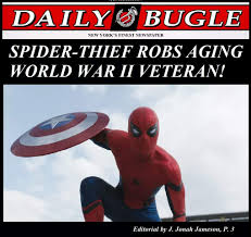 J Jonah Jameson Meme - that spiderman is such a menace marvel cinematic universe know