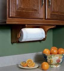 paper towel holder mounted under cabinet kraftmaid