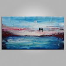 Bedroom Paintings Pinterest by Abstract Art Contemporary Wall Art Modern Art Love Birds