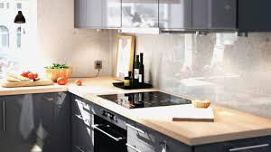 plan travail cuisine bois cuisine grise plan de travail bois cuisine grise plan de