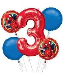 birthday balloons for men best 25 spider birthday ideas on
