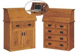 Secretary Style Desks Ames Woodworking Home Or Office Desks