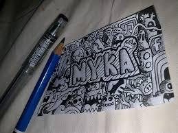 doodle name jc myka by jcasipit on deviantart