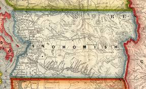 Washington County Map by Snohomish County Washington Maps And Gazetteers