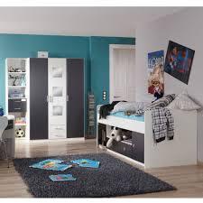 Schlafzimmer Komplett Set G Stig Jugend Schlafzimmer Möbel Rick In Weiß Grau Pharao24 De