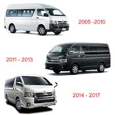wing side mirror cover chrome hand adj for toyota hiace commuter