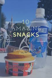 top 10 halloween food at tokyo disney resort tdr explorer