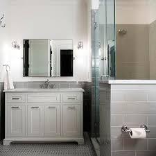 grey subway tiles contemporary bathroom urban building group