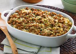 Main Dish Rice Recipes - dirty rice recipe rice sausage and cups