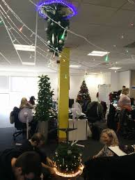 my friend s office made a portal tree gaming
