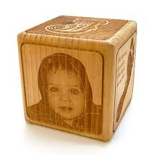 engraved wooden gifts personalized engraved baby gifts blocks party favors ornaments