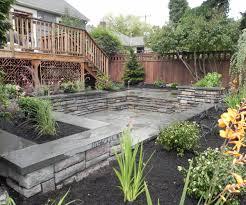Backyard Garden Design Ideas Enamour Images About Landscape Ideas On Backyards Backyard
