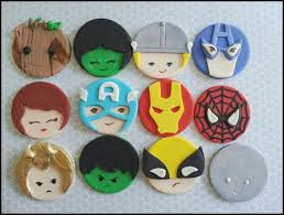 marvel cake toppers between the pages guardians of the galaxy