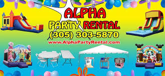 party rentals miami party rental miami bounce house miami alpha party rental miami