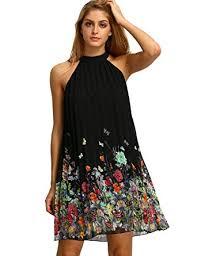 sleeveless dress floerns women s summer chiffon sleeveless party dress at