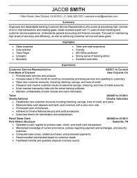 customer service representative resume best financial customer service representative resume exle