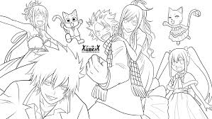 fairy tail coloring pages and coloring pages theotix me